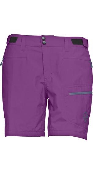 Norrøna W's Bitihorn Lightweight Shorts Purple Rain